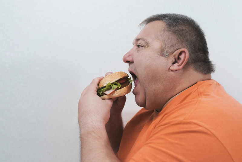Relationship Between Weight Gain Depression and Obesity